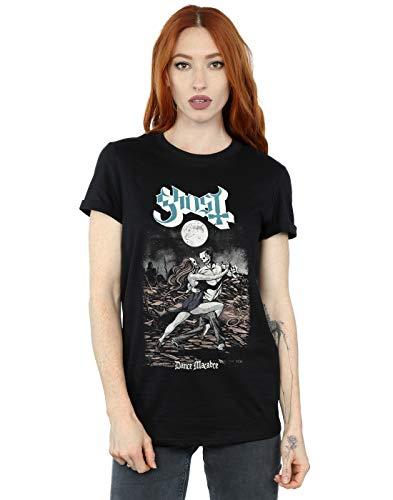 Fit Dance camiseta Ghost Boyfriend funda Cult Negro Woman macabra Absolute wxaqA0gq