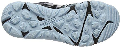 Merrell Mqm Edge Gore-Tex, Zapatillas de Senderismo Para Mujer Azul (Black/frozen Blue)