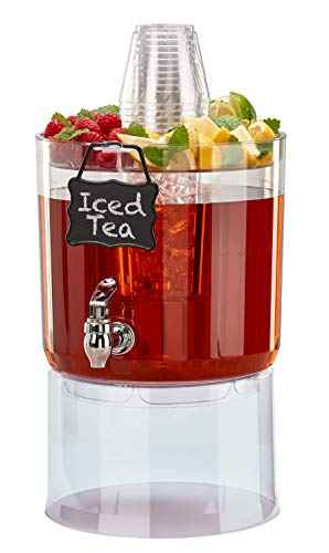 Punch Drink For Halloween (Buddeez 14401C-ONL Party Top New Beverage Dispenser, 1.75 gallon,)