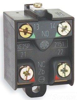(Telemecanique XE2SP2141 Osisense Xc Limit Switch Contact Block, Snap-Action, 2 Nc, 240 Vac, 3 Amp)