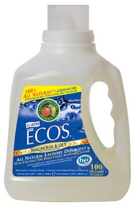Earth Friendly Products PL988804 100-oz. Magnolia/Lily Concentrated Liquid Laundry Detergent