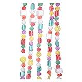 Kurt Adler 9 Plastic White Flocked Candy Garland
