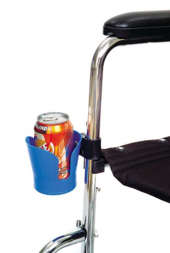 Essential Medical Supply Wheelchair Cup Holder