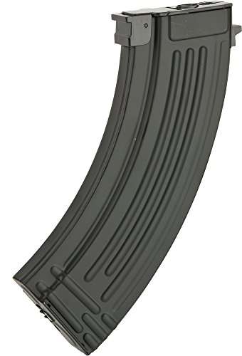 Evike - Matrix Full Metal 600rd Hi-Cap Magazine for AK Series Airsoft AEG