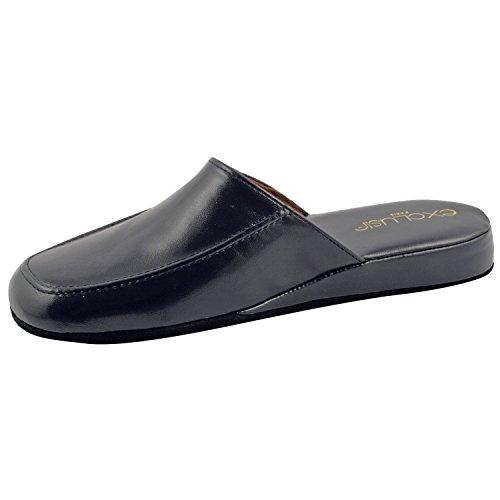 Diseño exclusivo de Relax, zapatos de hombre-Calcetines para hombre Azul - azul