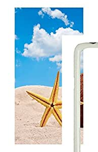 Samsung Galaxy S5 Starfish And Coconut In Beach Sand707 PC Custom Samsung Galaxy S5 Case Cover White