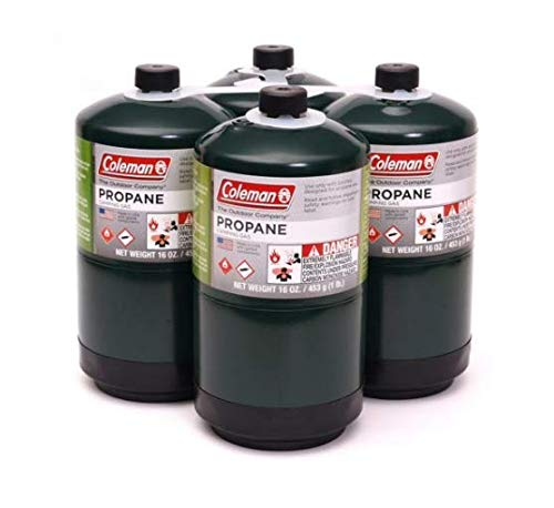 - Propane Fuel Cylinders, 4 pk./16 oz.