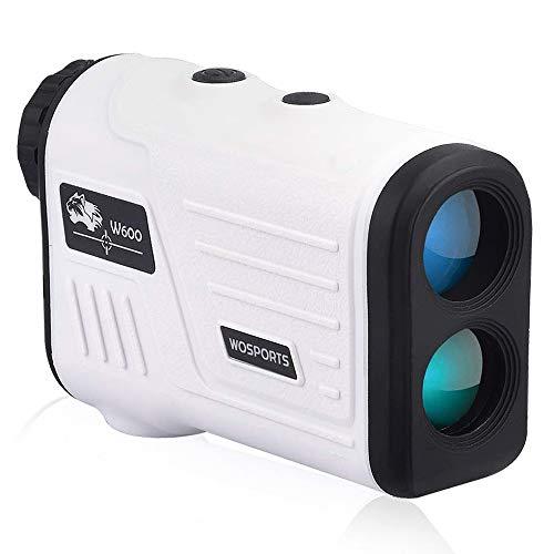 레이저 거리계 골프 측정기 flag 폴 아이콘 최대 측정 거리 600메도루(650야드) 광학배 망원 조작 간단 수렵 트레일 스포츠 경기 등산 측량 탐사 등도 대응 화이트W600A