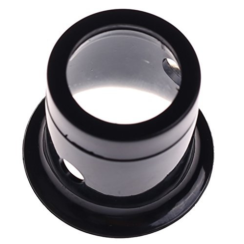 Ioffersuper 1 Pcs 10X Black Jewelers Loupe Magnifier Magnifying Eye Loop by Ioffersuper (Image #5)