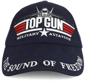 JumpingLight - Gorra de béisbol de aviación Militar, Color Azul ...