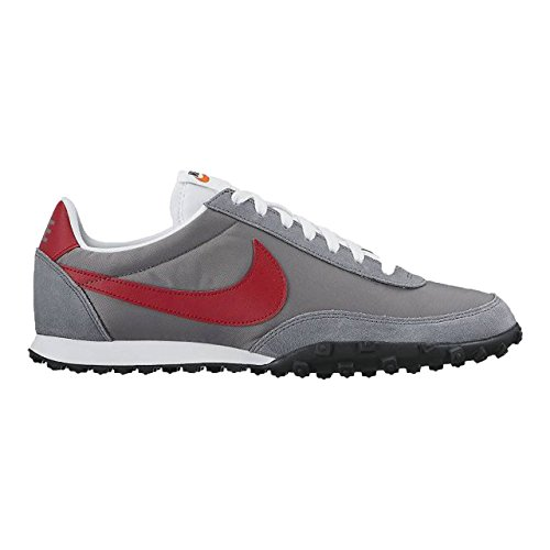 NIKE Waffle Racer 17 Cool Grey/Gym Red-Summit White -