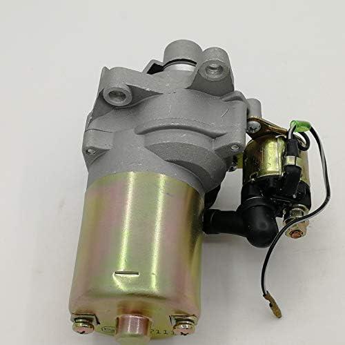 Shioshen Motor de Arranque y el solenoide para Honda GX160 GX200 168F 5.5Hp 6.5HP compresor generador peque/ño Motor 31210-ZE1-023