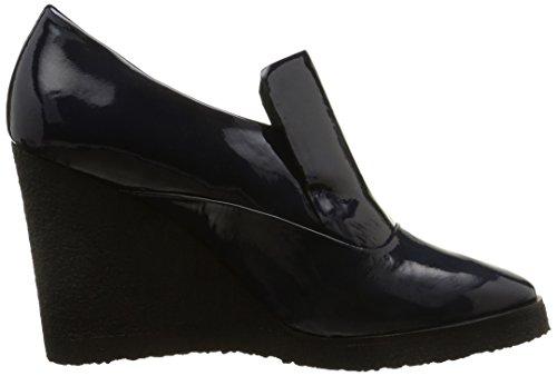 Castañer Violet-Patent Leather, Scarpa Donna Blu (Dark Blue)