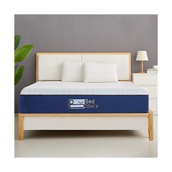 BedStory Materasso in Schiuma viscoelastica, Materasso Memory Foam, con Essenza di Lavanda   22 cm di Spessore… 6 spesavip
