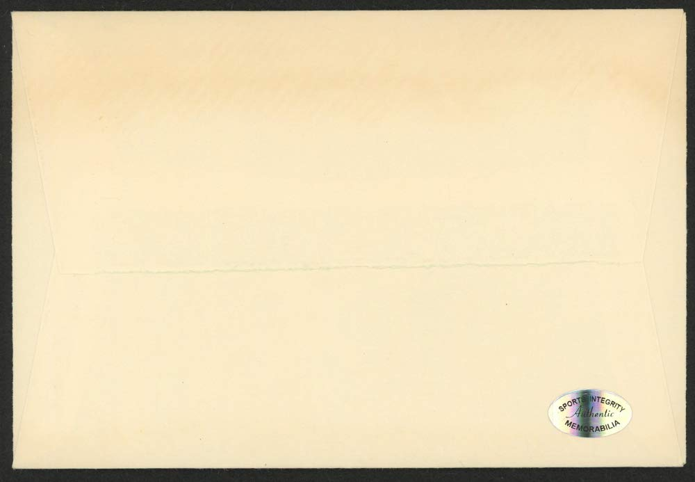 DICK WILLIAMS SIGNED ENVELOPE BROOKLYN DODGERS BALTIMORE ORIOLES BOSTON RED SOX+