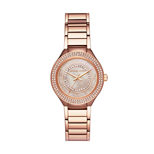 Michael Kors Women's 'Mini Kerry' Quartz Stainless Steel Casual Watch, Color:Rose Gold-Toned (Model: MK3802) by Michael Kors
