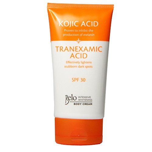 Belo Intensive Whitening Body Cream (Kojic + Tranexamic Acid) with Spf 30 150ml (Best Whitening Lotion With Spf)