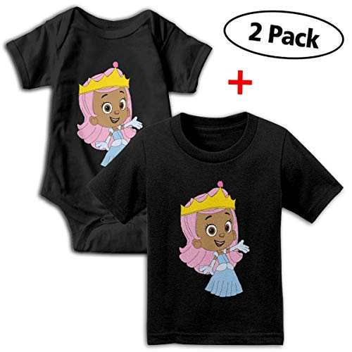 Bubble Guppies Babys Boy's & Girl's Short Sleeve Bodysuit Outfits And -