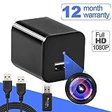 Hidden Spy Camera -Motion Sensor Security - HD 1080P Wireless Surveillance Video Cameras - USB Hidden Camera - Portable Home & Travel Cams - Built-in Battery - No WiFi Need