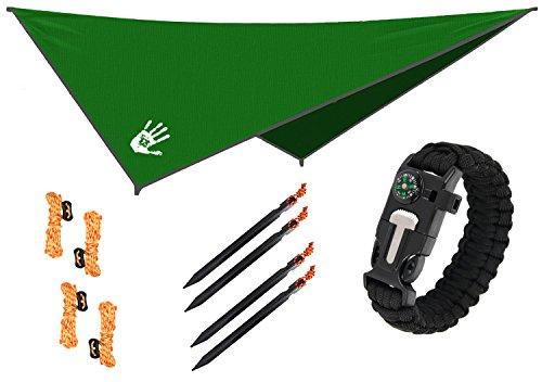 Quantum 2 Spike - RainFlyEVOLUTION 10 x 10 ft Hammock Waterproof RAIN Fly Tent TARP 170