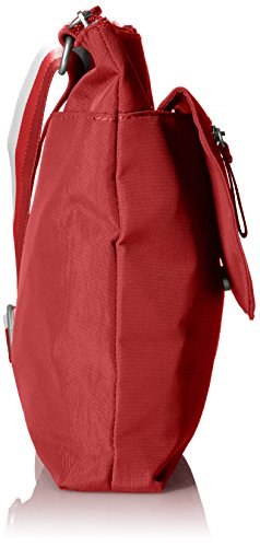 Top Fine Zip Line Baggallini Scarlet Flap qxE040FR