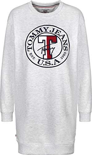 Chiné W Gris Jeans Tommy Logo Sweatshirt Robe SnH61