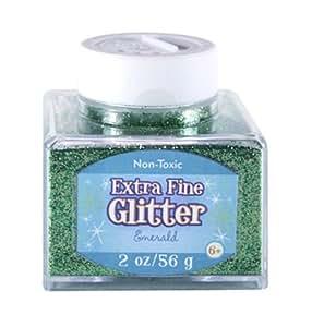 Sulyn 2oz. Glitter  Stacker Jar - Emerald