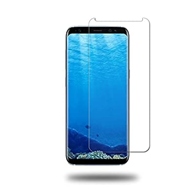 Galaxy S8 Plus Screen Protector,Cabras Tempered Glass [Touch Agile] 3D Glass Anti-Scratch, Anti-Fingerprint, Bubble Free [Case Friendly] [Easy to Install] for Samsung Galaxy S8 Plus