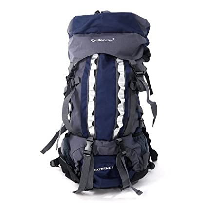 a8dca97cb5fa Image Unavailable. Image not available for. Color  80L Pro Waterproof  Backpack Shoulders Bag 600D Camping ...