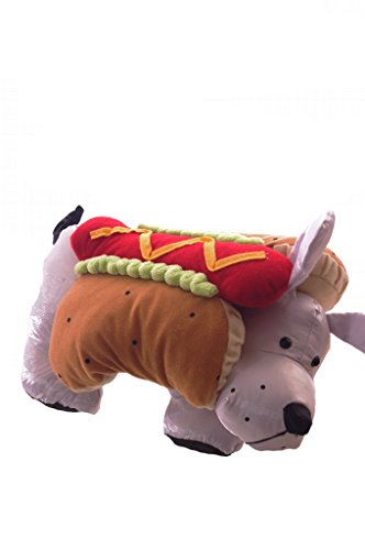 Wiener Dog Hotdog Costume (Hot Dog Pet Costume Size Small)