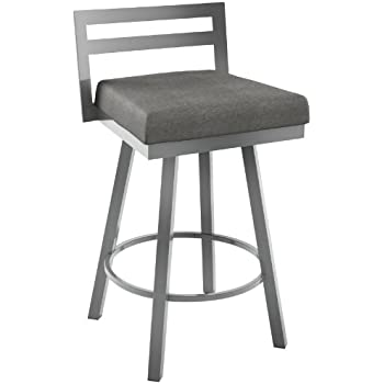 Amazon Com Amisco Industries Akers Swivel Stool 42 75