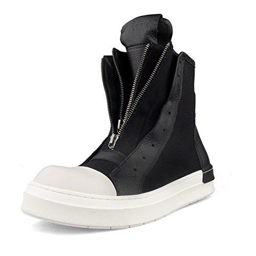 YIXINY Chaussures de sport S-753 Chaussures Male PU + Tissu Printemps Plaque d'Automne Chaussures Hip-Hop Zipper