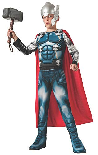 Thor Dress Up Costume - Marvel Universe Avengers Assemble Thor Deluxe