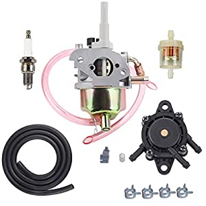 Hipa 308054078 Carburetor Fuel Pump for Ryobi RYi2200 RYi2200A RYi2200G RYCi2001 Digital Inverter 2200 Watt 106cc OHC Generator Spark Plug Fuel Filter