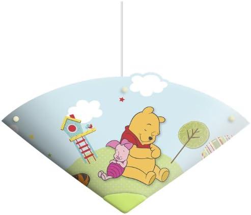 60W 61523SUSP Spearmark Deckenleuchte Winnie Pooh B/är Himmelblau
