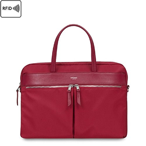 KNOMO Hanover Slim 14'' Laptop Briefcase by Knomo
