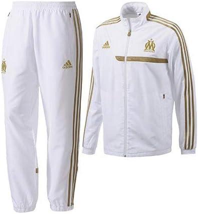adidas Om Survetement Junior Blanc Or 201