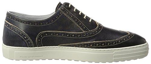 Floris van Bommel 19071/01 - Zapatos Hombre Blau (Blue)