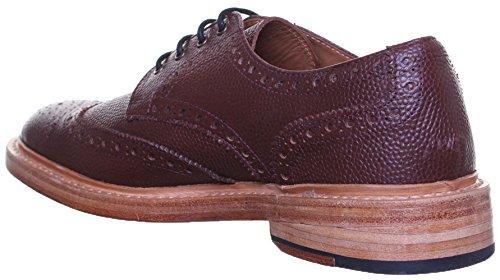 pour en cuir chaussures Reece Dylan Justin renforcées GoodYear S1q mat Burgundy wIt0xPtq