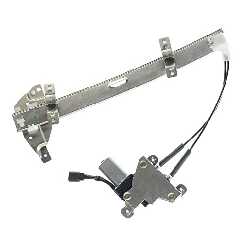 A-Premium Power Window Regulator with Motor for Buick Century 1997-2005 Regal Oldsmobile Intrigue 1998-2002 Sedan Front Left Driver Side