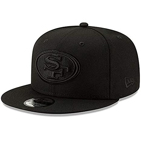 f200a680be526 Image Unavailable. Image not available for. Color  New Era San Francisco  49ers Hat NFL Black ...