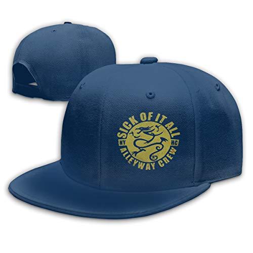 Sick Of It All Dragon - Sealiarks Sick of It All Dragon Fashion Adjustable Baseball Cap Unisex Casual Sun Hat Navy