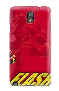 New CaseyKBrown Super Strong The Flash Tpu Case Cover For Galaxy Note 3