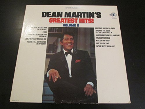 Dean Martin's Greatest Hits Vol.2 (Record Album)