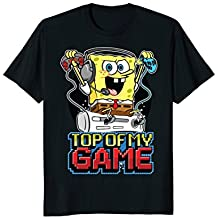 Spongebob SquarePants Top Of My Game T-Shirt