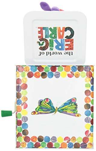 World of Eric Carle, The Very Hungry Caterpillar Jack in the Box by Kids Preferred