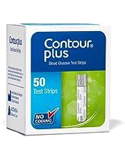 عدد 50 شريط كونتور بلس لقياس مستوي الجلوكوز في الدم