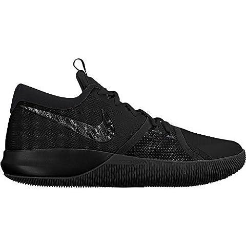 Nike Men's Zoom Assersion Basketball Shoe Black (10) (Nike 5 0 Men Green)