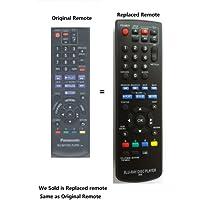 New Panasonic- Replaced Blu-ray Disc DVD Player Remote Ir6 (N2qayb000574 N2qayb000575 N2qayb000883) Fit for Panansonic Dmp-bd75 Dmp-bd755 and All Panasonic Brand Blu-ray DVD Player