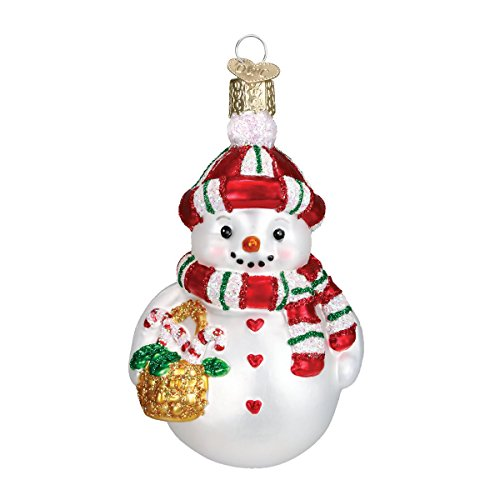 Old World Christmas Sweetie Pie Glass Blown Ornament